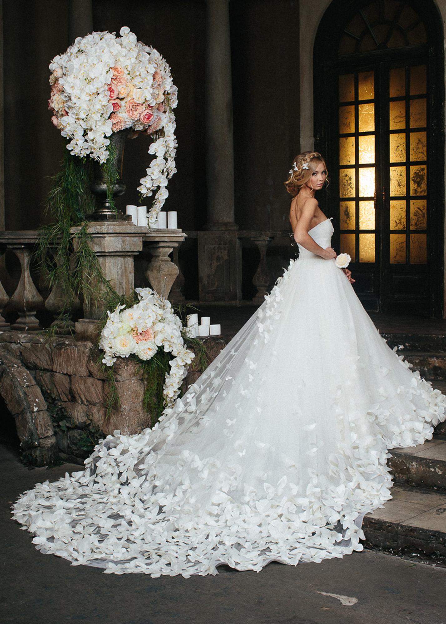 Модель  Бабочки Любви -  Farfalla Amore от Speranza Couture