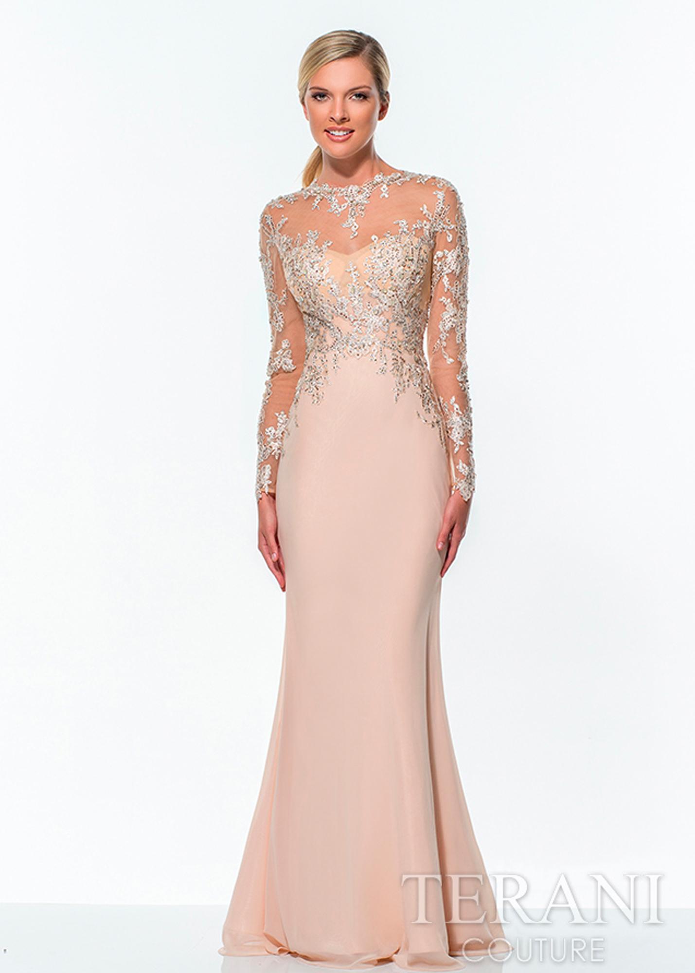 Модель E0296 от Terani Couture