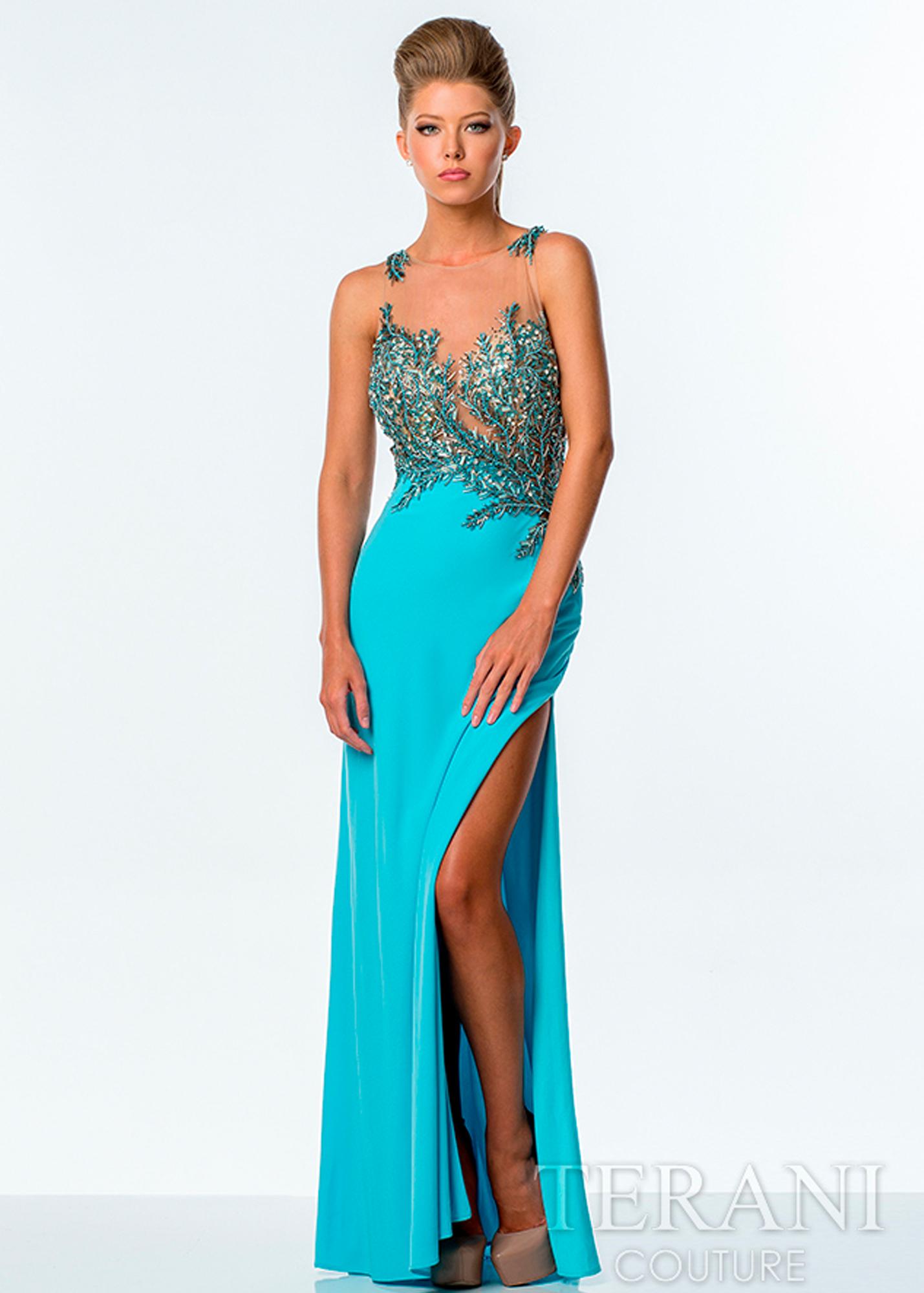 Модель P0056 от Terani Couture