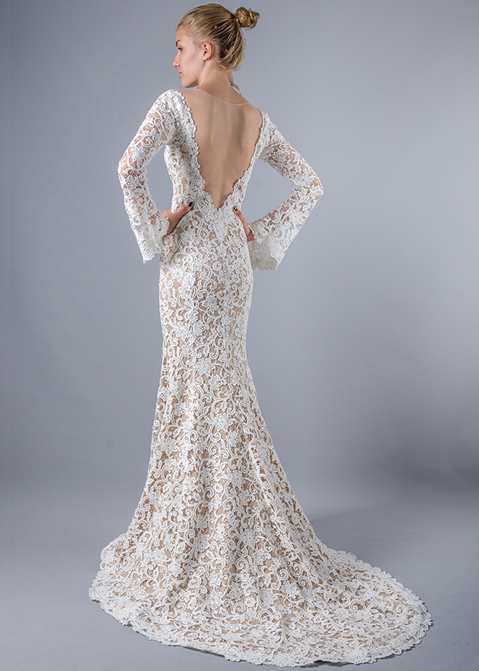 Модель Cara от Yusupova Couture